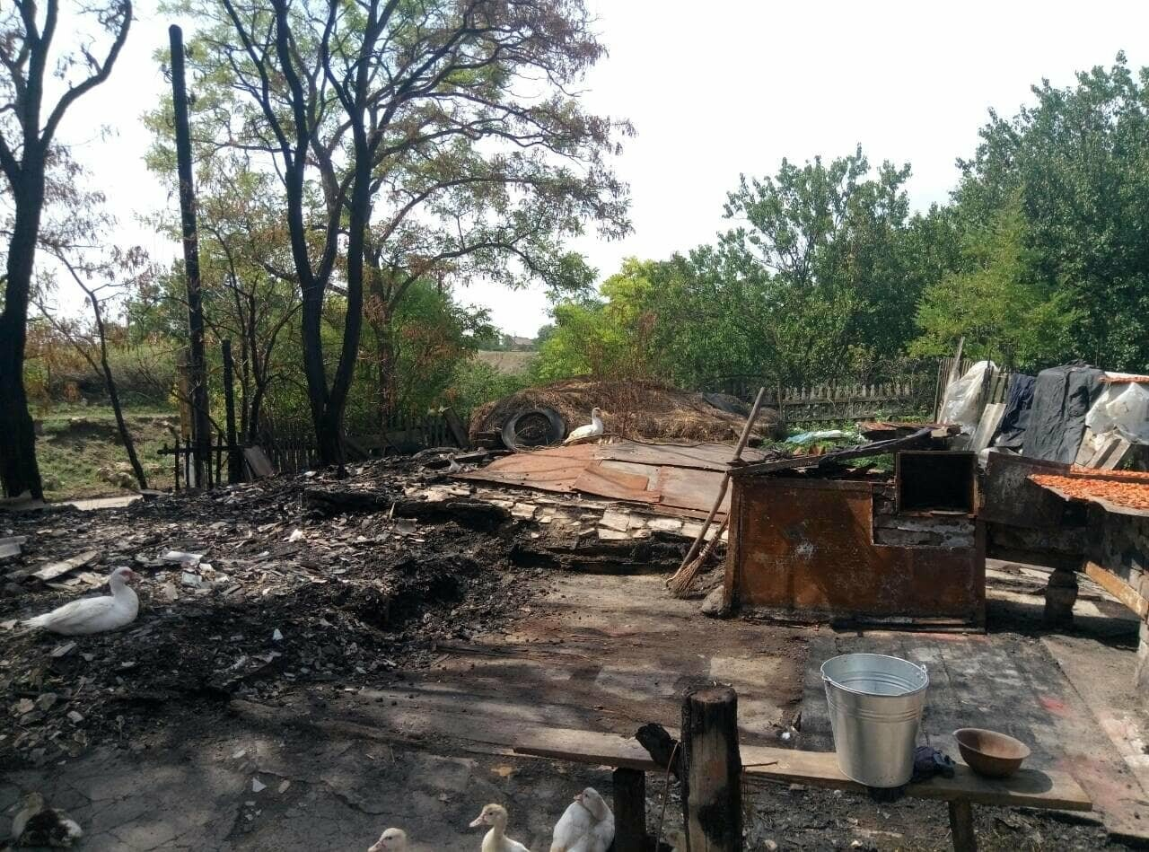 В Запорожской области в дом попала шаровая молния, фото-4