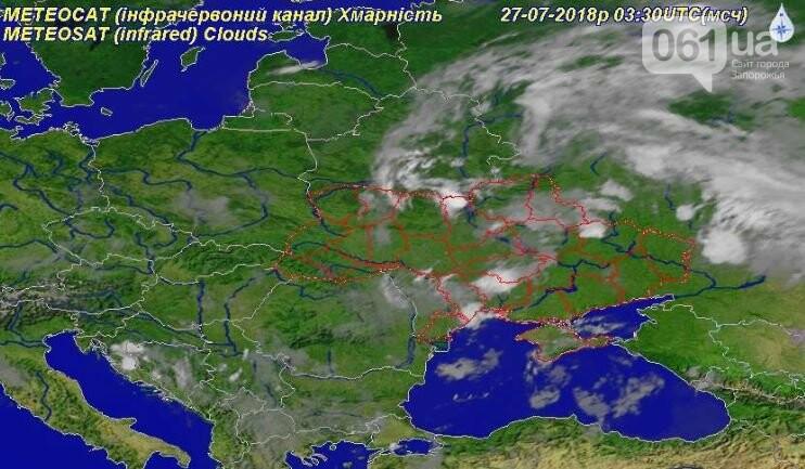 Погода в Запорожье сегодня: дожди вернутся вечером, фото-3