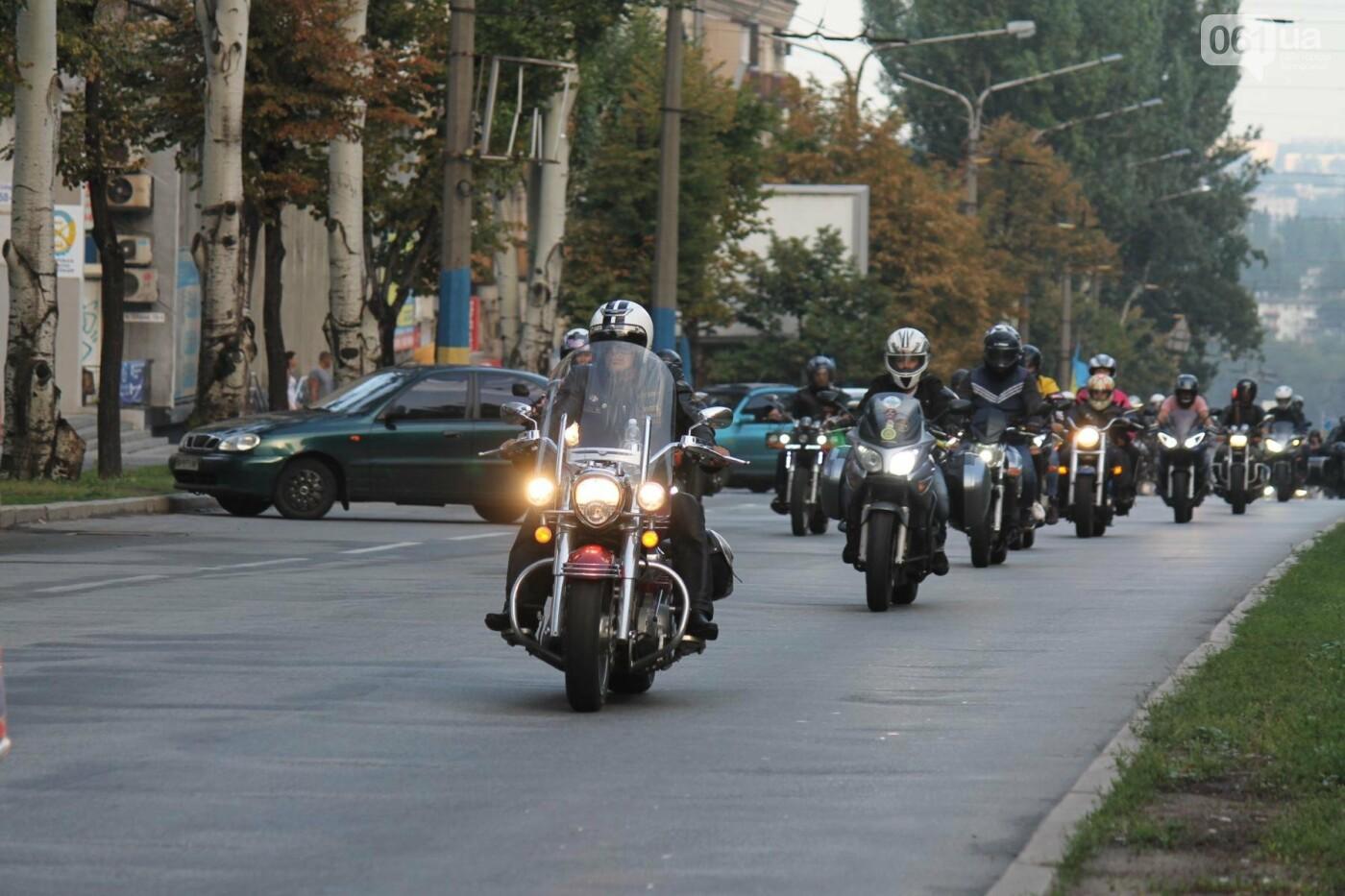В Запорожье завершился всеукраинский Мотопробег единства, – ФОТОРЕПОРТАЖ, фото-6