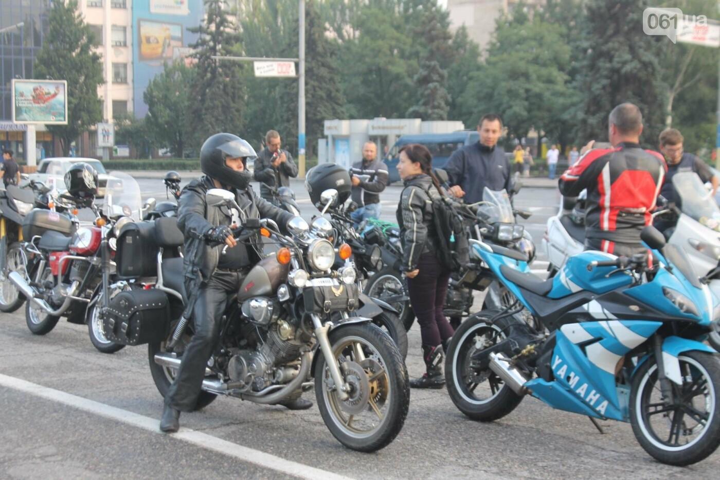 В Запорожье завершился всеукраинский Мотопробег единства, – ФОТОРЕПОРТАЖ, фото-7
