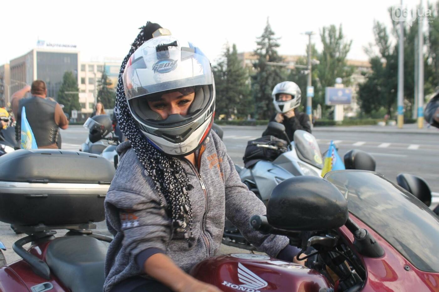 В Запорожье завершился всеукраинский Мотопробег единства, – ФОТОРЕПОРТАЖ, фото-11