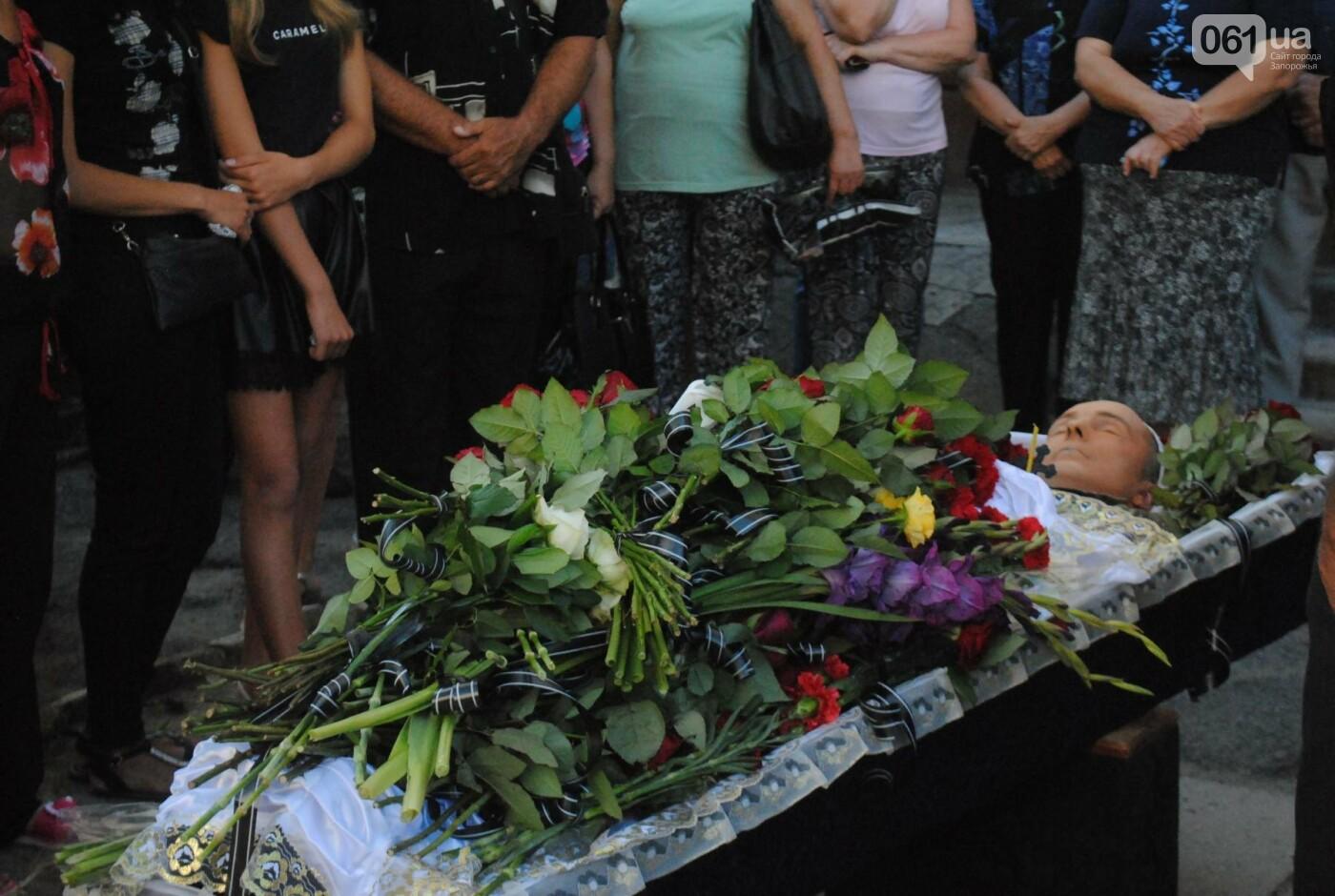 В Запорожье простились с военным, погибшим в бою, - ФОТОРЕПОРТАЖ, фото-18