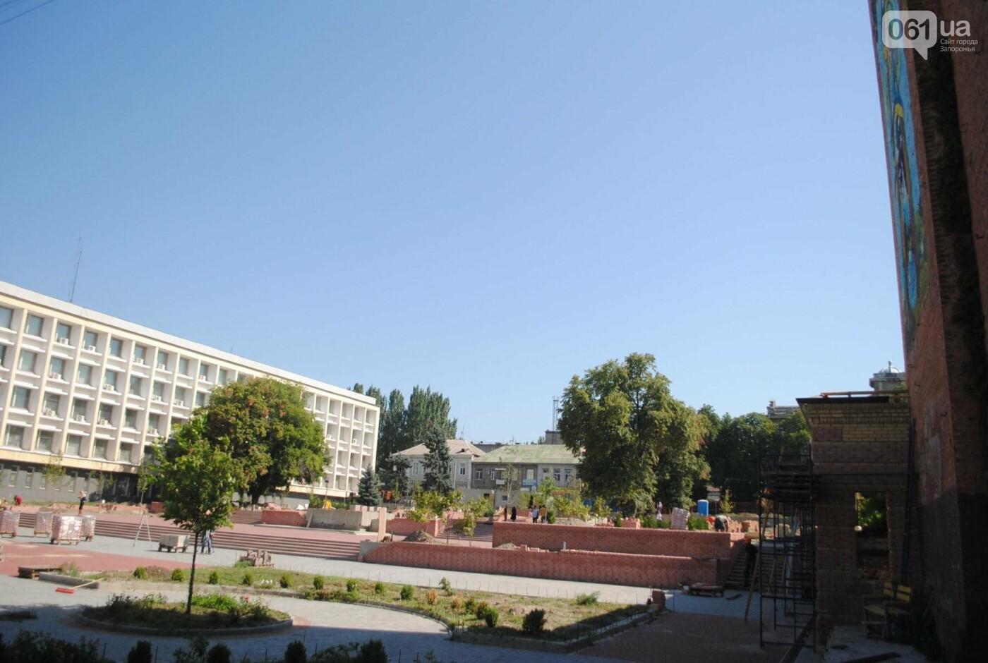 Сквер напротив театра Магара обещают открыть до Дня города, ранее обещали ко Дню Независимости — ФОТОРЕПОРТАЖ, фото-3