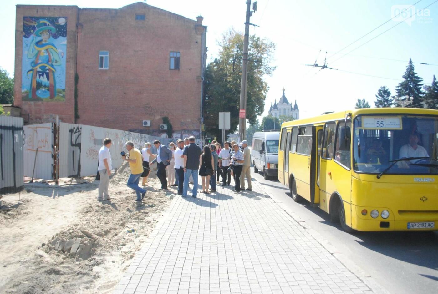Сквер напротив театра Магара обещают открыть до Дня города, ранее обещали ко Дню Независимости — ФОТОРЕПОРТАЖ, фото-14