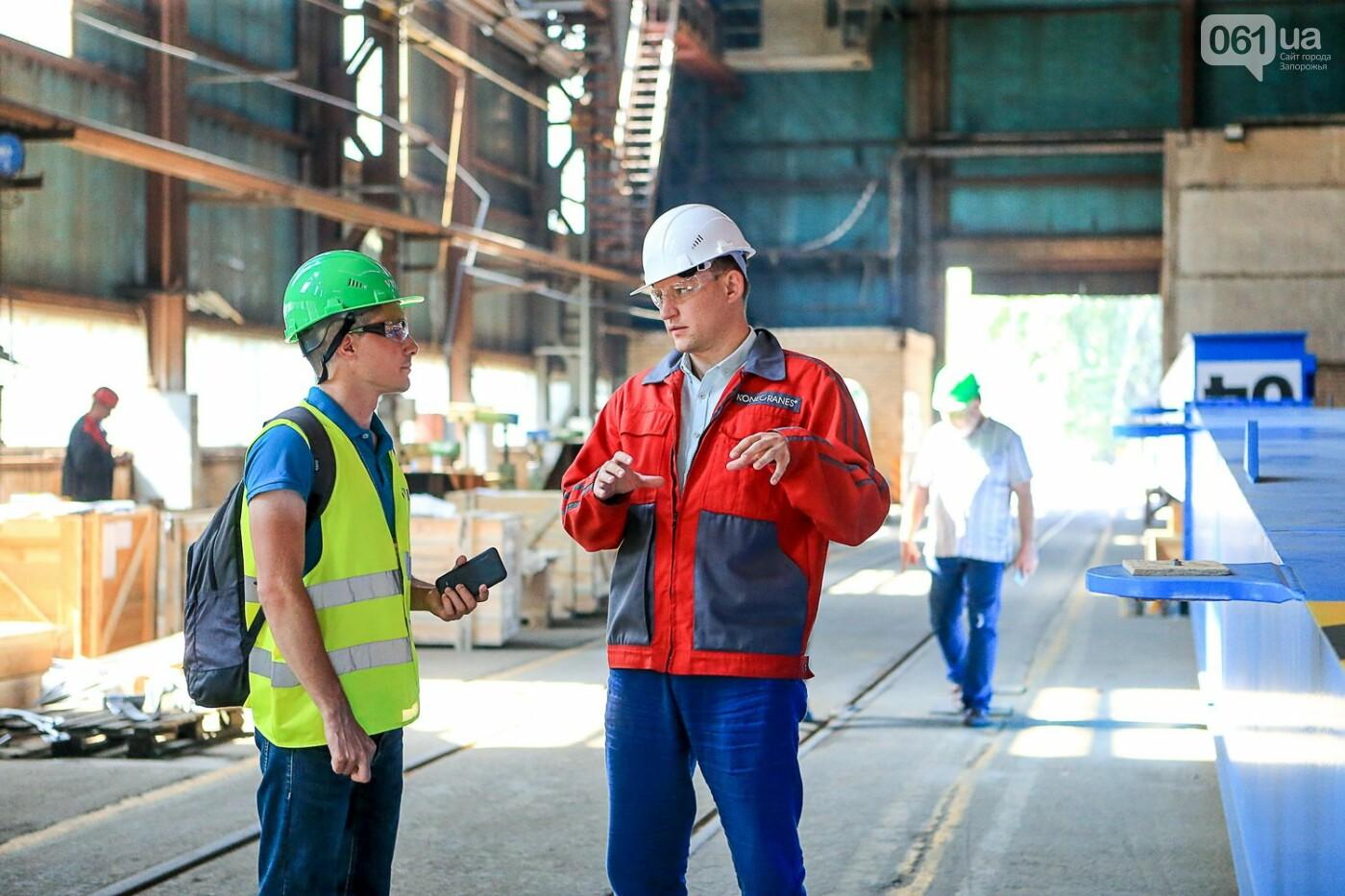 Как в Запорожье работает крупнейший в Европе завод по производству кранов: экскурсия на производство, — ФОТОРЕПОРТАЖ, фото-6