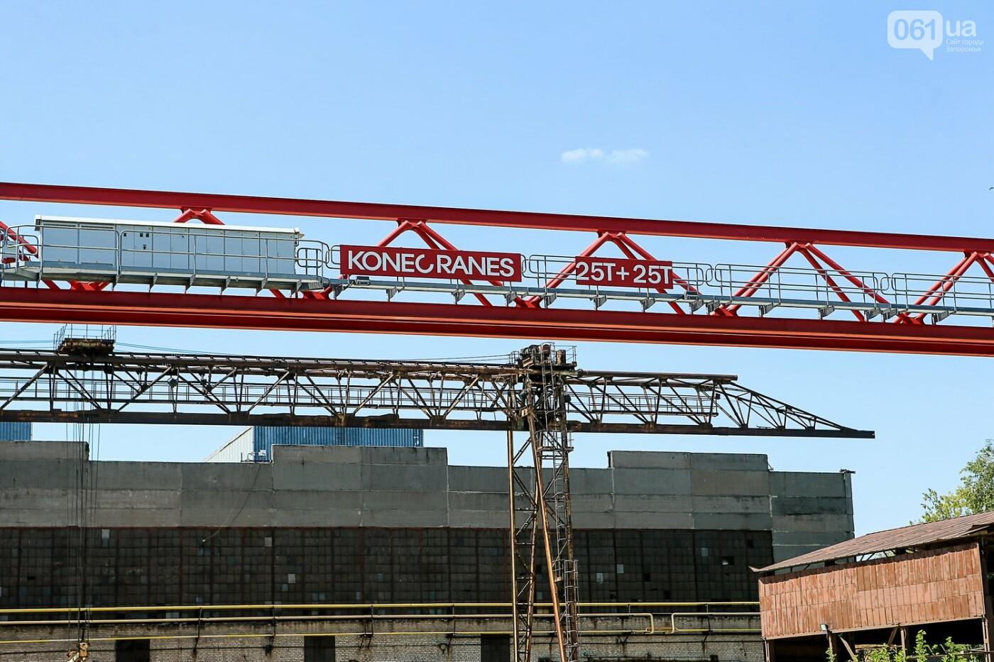 Как в Запорожье работает крупнейший в Европе завод по производству кранов: экскурсия на производство, — ФОТОРЕПОРТАЖ, фото-4