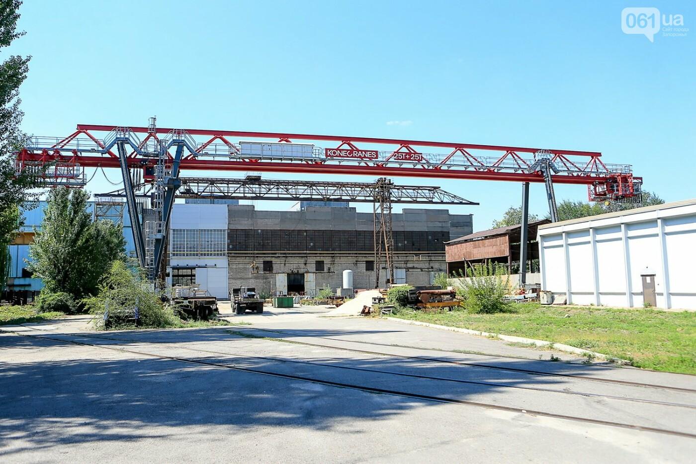 Как в Запорожье работает крупнейший в Европе завод по производству кранов: экскурсия на производство, — ФОТОРЕПОРТАЖ, фото-5