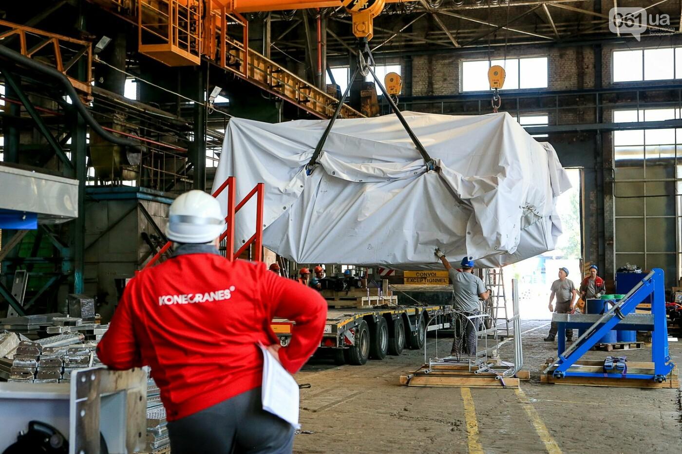 Как в Запорожье работает крупнейший в Европе завод по производству кранов: экскурсия на производство, — ФОТОРЕПОРТАЖ, фото-62