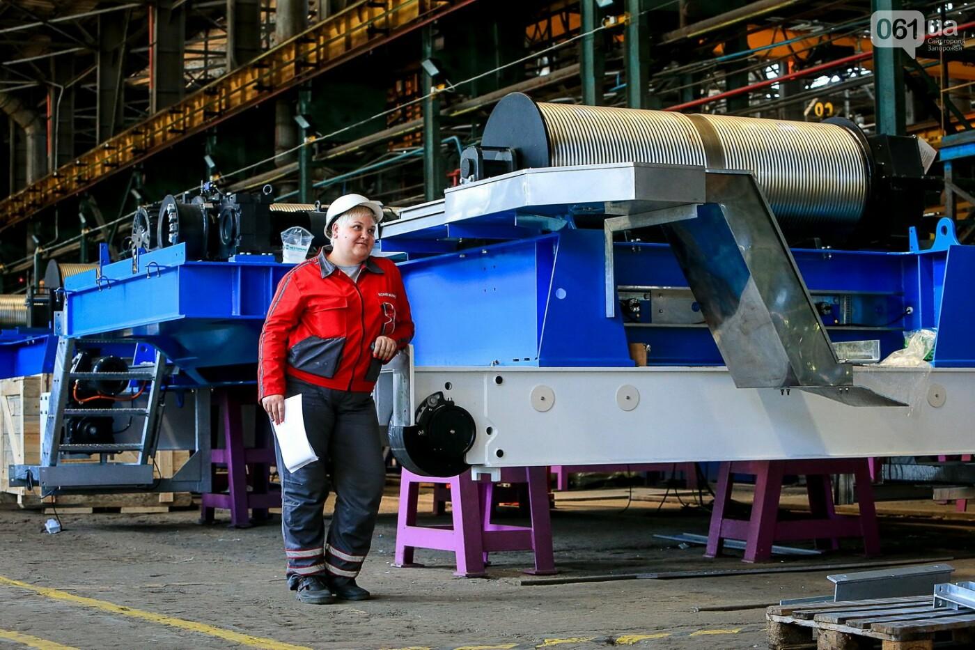 Как в Запорожье работает крупнейший в Европе завод по производству кранов: экскурсия на производство, — ФОТОРЕПОРТАЖ, фото-66