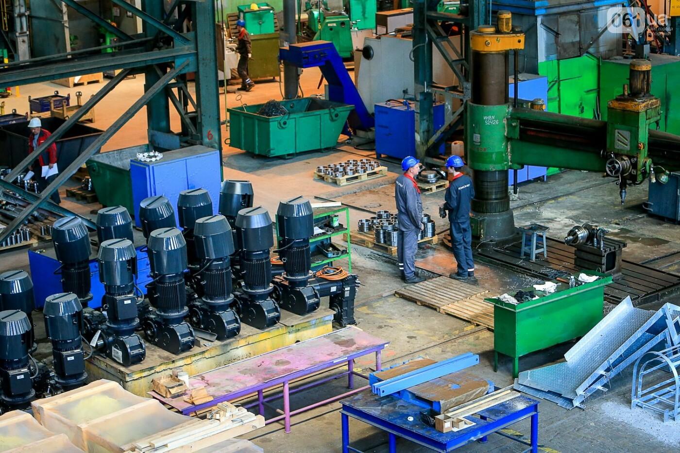 Как в Запорожье работает крупнейший в Европе завод по производству кранов: экскурсия на производство, — ФОТОРЕПОРТАЖ, фото-61