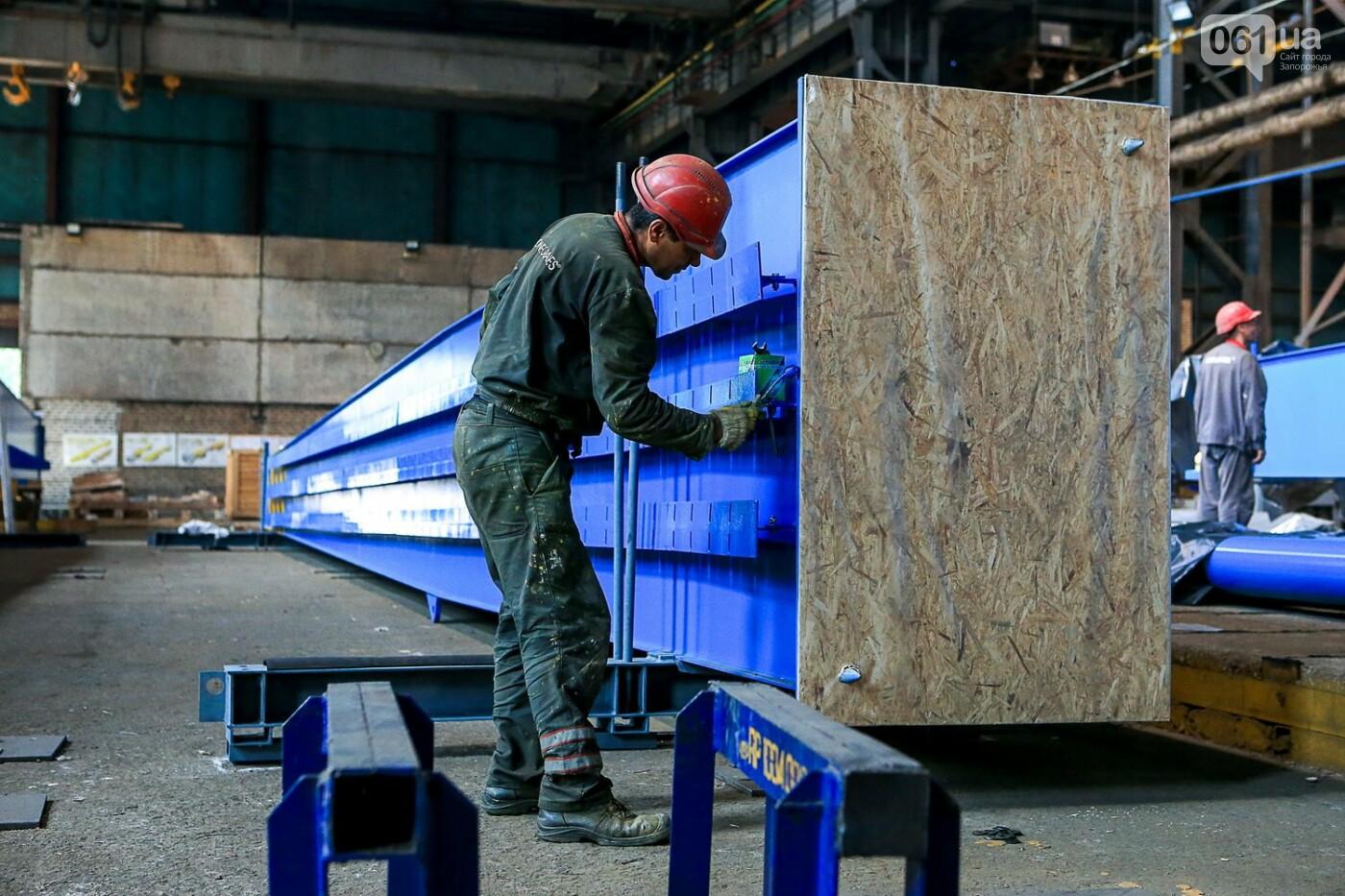 Как в Запорожье работает крупнейший в Европе завод по производству кранов: экскурсия на производство, — ФОТОРЕПОРТАЖ, фото-31