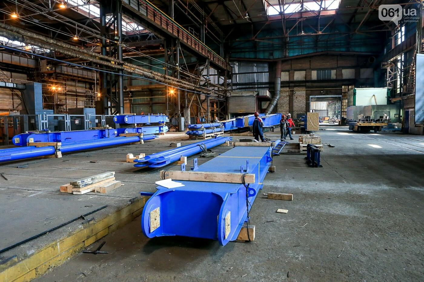 Как в Запорожье работает крупнейший в Европе завод по производству кранов: экскурсия на производство, — ФОТОРЕПОРТАЖ, фото-33