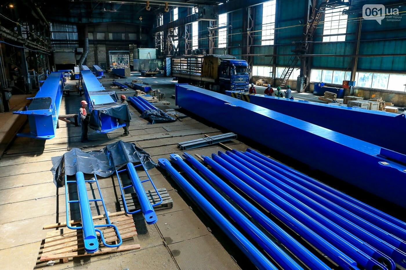 Как в Запорожье работает крупнейший в Европе завод по производству кранов: экскурсия на производство, — ФОТОРЕПОРТАЖ, фото-30