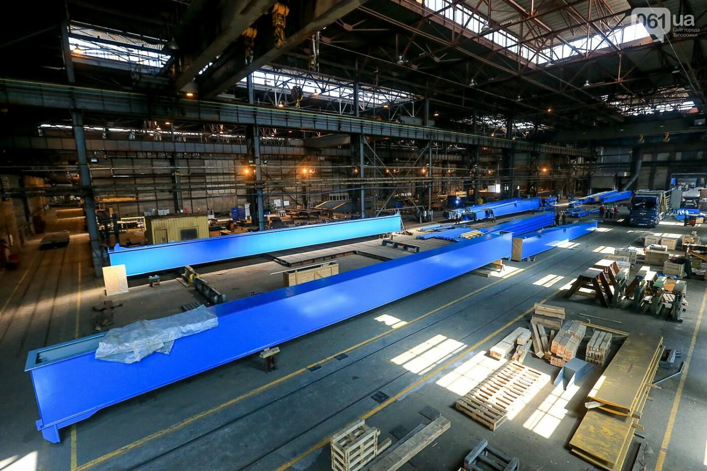 Как в Запорожье работает крупнейший в Европе завод по производству кранов: экскурсия на производство, — ФОТОРЕПОРТАЖ, фото-29