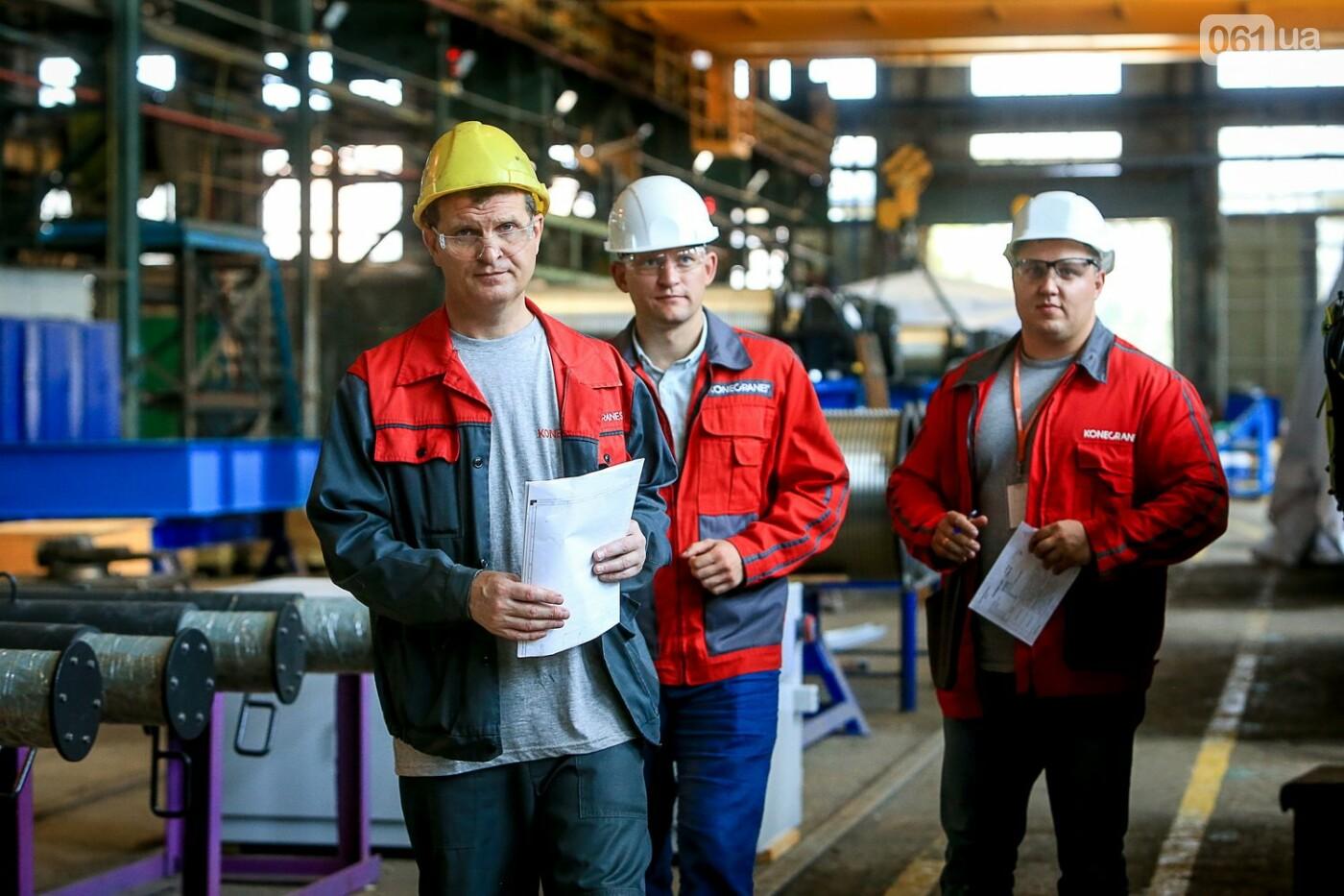 Как в Запорожье работает крупнейший в Европе завод по производству кранов: экскурсия на производство, — ФОТОРЕПОРТАЖ, фото-71