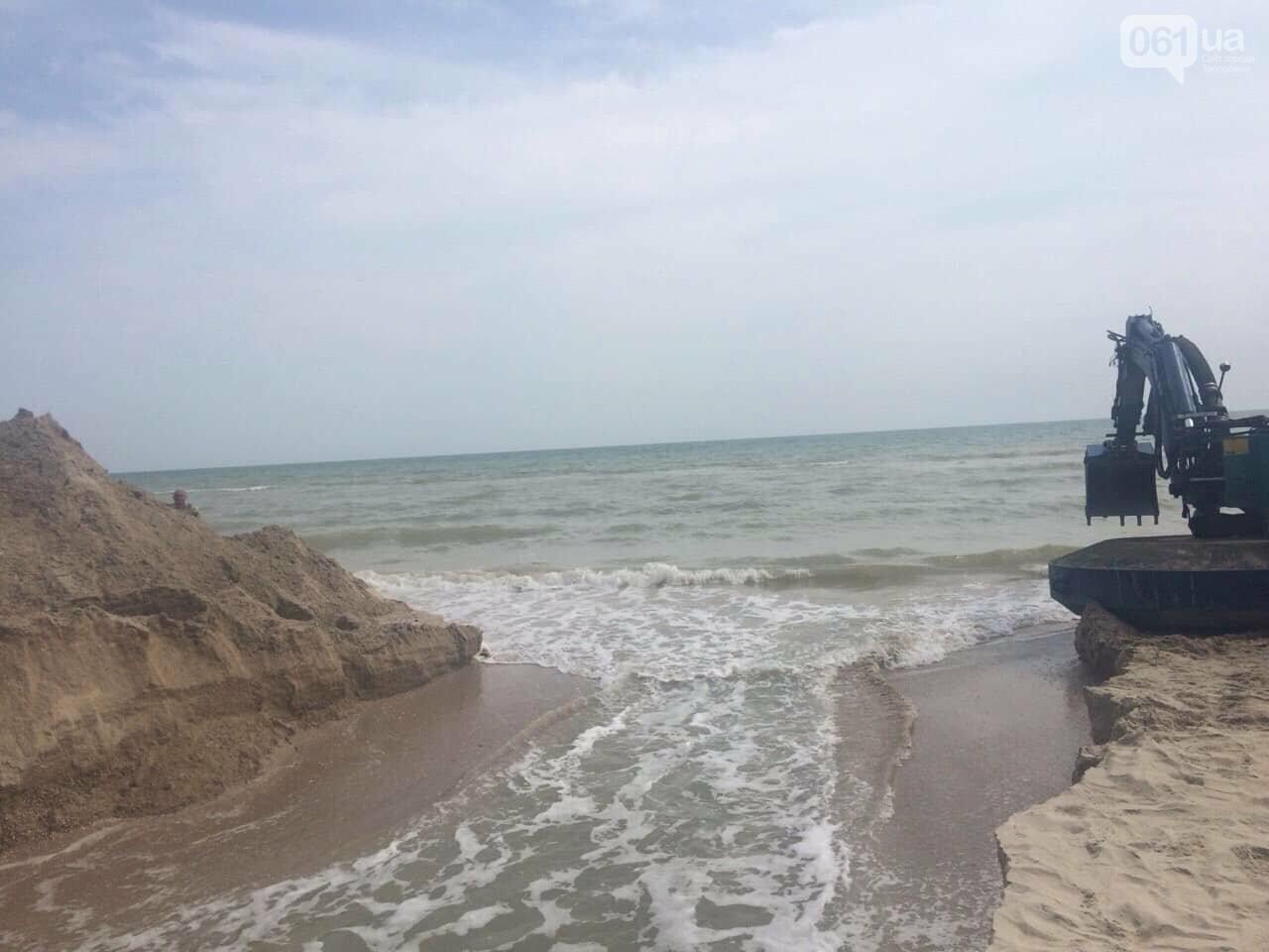 Промоину, соединяющую лиман с Азовским морем, открыли, - ФОТО , фото-3