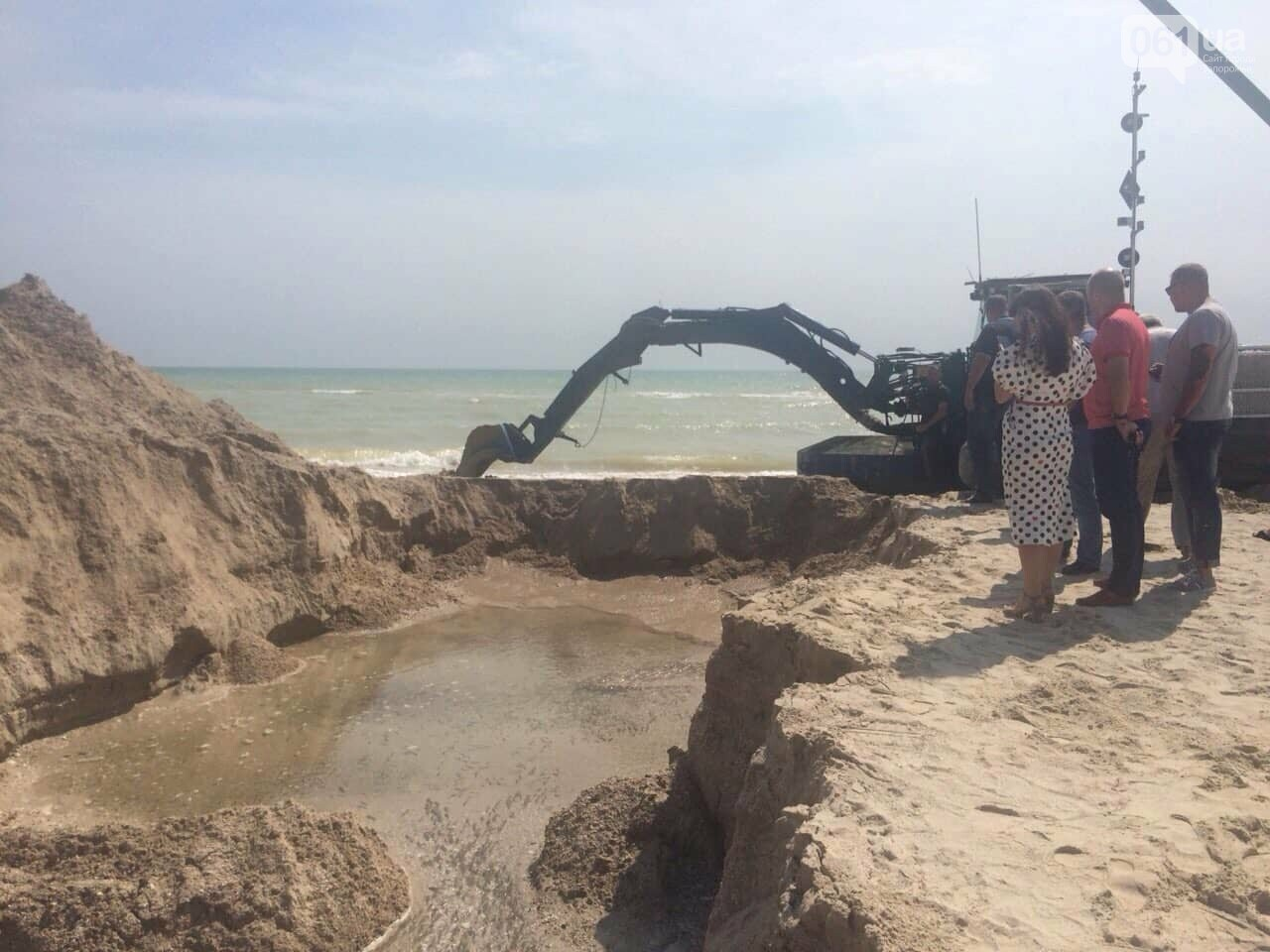 Промоину, соединяющую лиман с Азовским морем, открыли, - ФОТО , фото-6