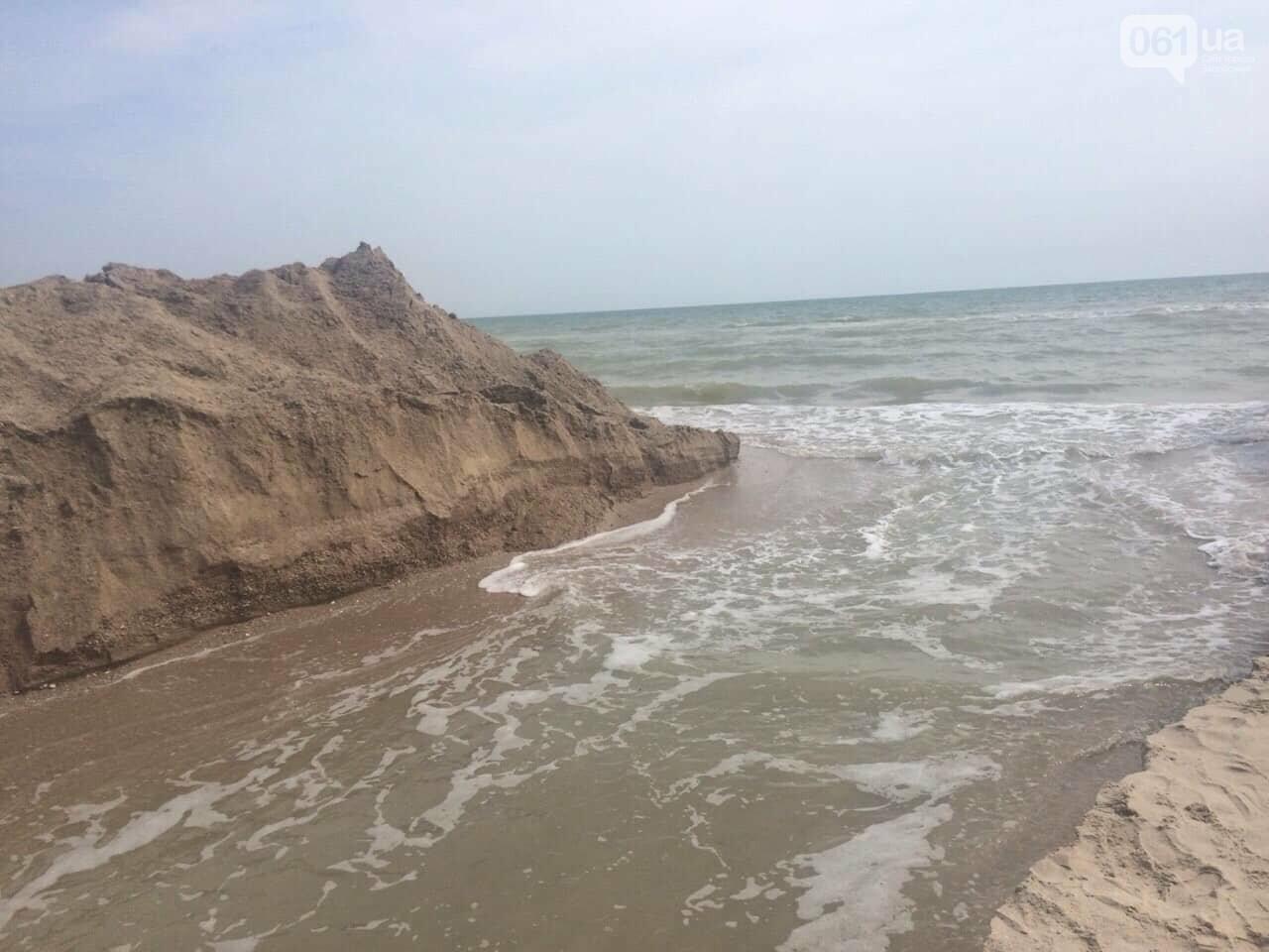 Промоину, соединяющую лиман с Азовским морем, открыли, - ФОТО , фото-1