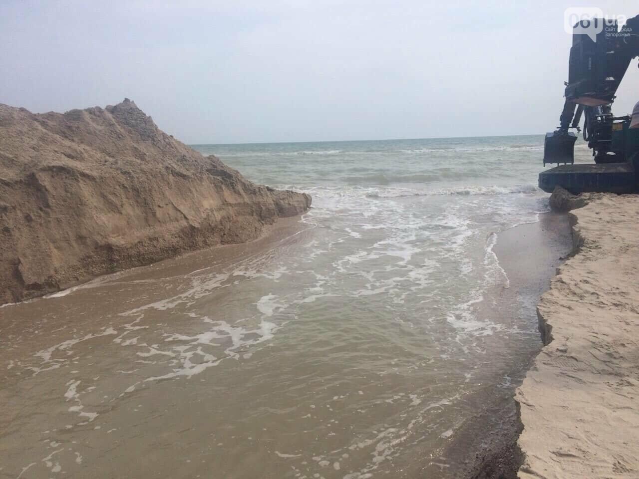 Промоину, соединяющую лиман с Азовским морем, открыли, - ФОТО , фото-5