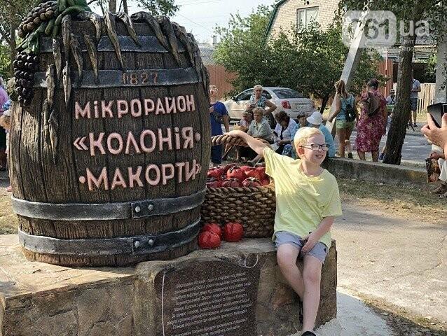 Бочка с виноградом, бычки и помидоры: в Бердянске появился еще один памятник, — ФОТО, фото-2