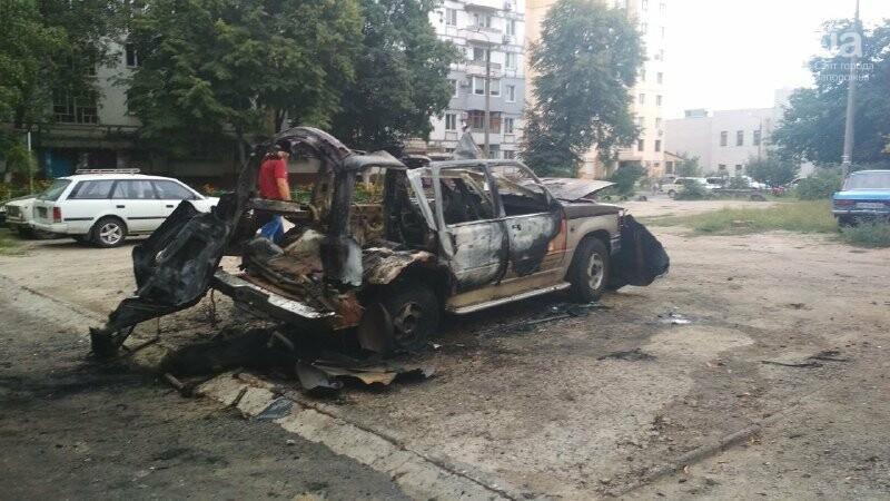 Известному запорожскому блогеру и активисту сожгли машину, – ФОТО, фото-2