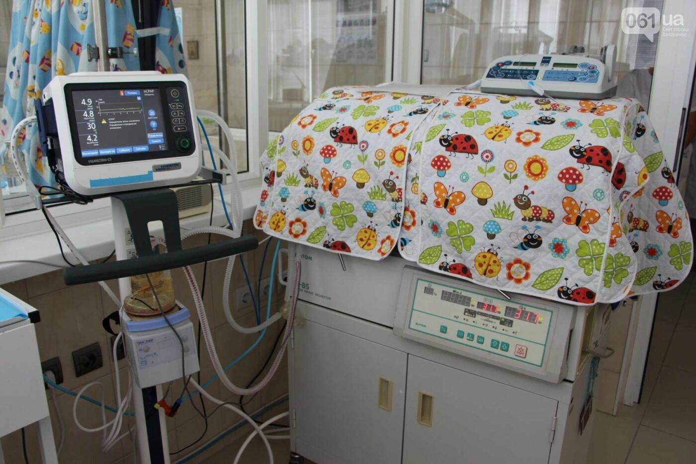 В запорожской детской больнице появились современные кувезы для недоношенных детей, фото-2