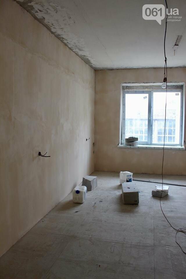 В запорожской воинской части реконструируют общежитие для военных, – ФОТО, фото-4