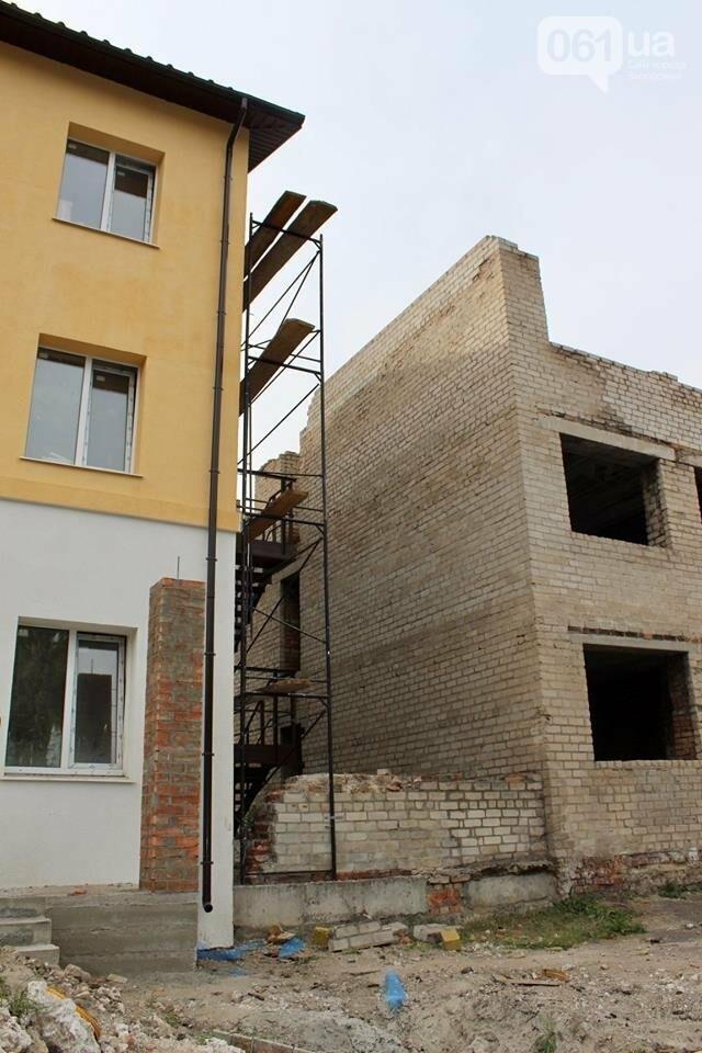 В запорожской воинской части реконструируют общежитие для военных, – ФОТО, фото-2