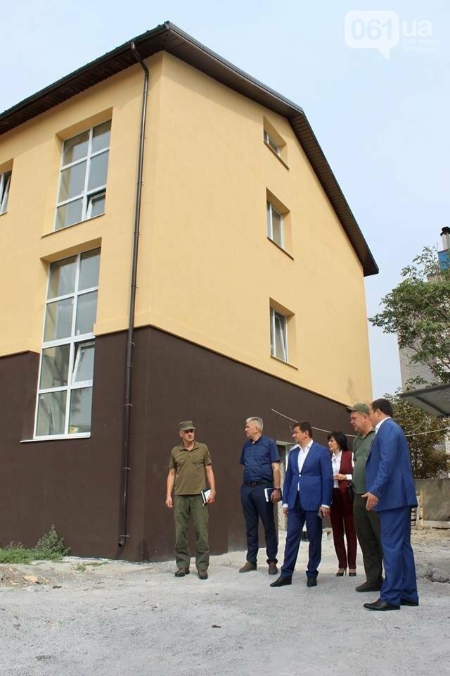 В запорожской воинской части реконструируют общежитие для военных, – ФОТО, фото-3