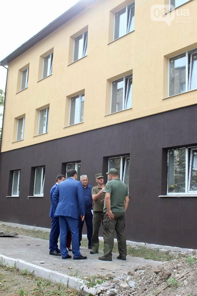 В запорожской воинской части реконструируют общежитие для военных, – ФОТО, фото-1