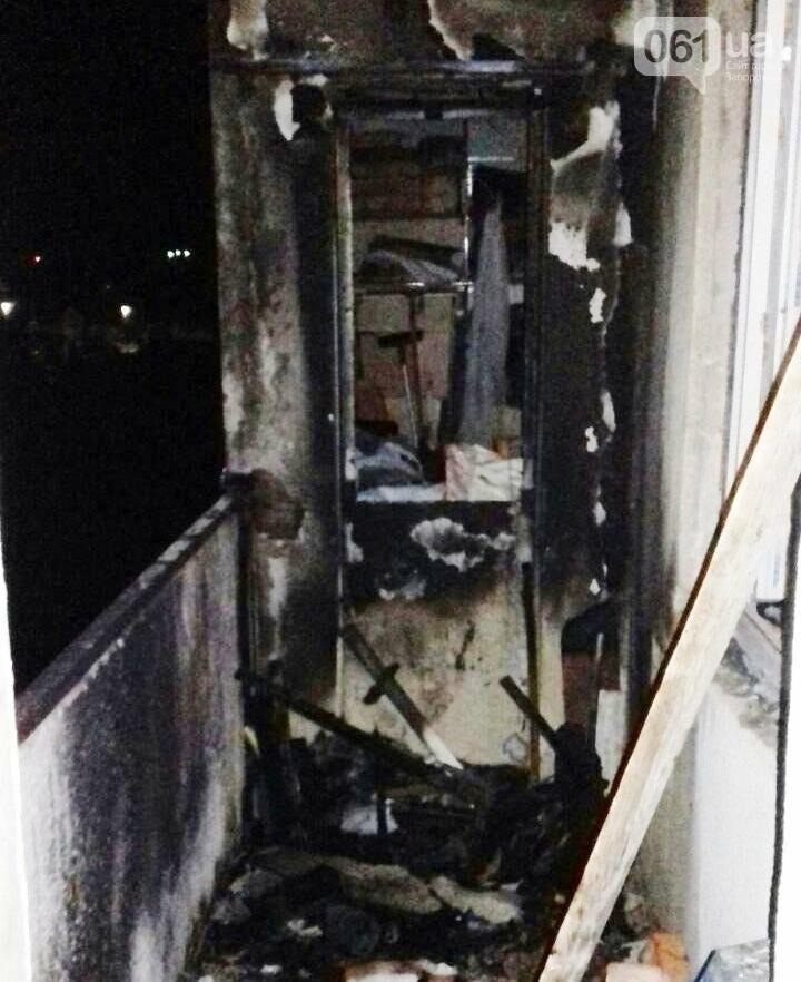 В Запорожье в воскресенье тушили многоэтажку, - ФОТО, фото-1
