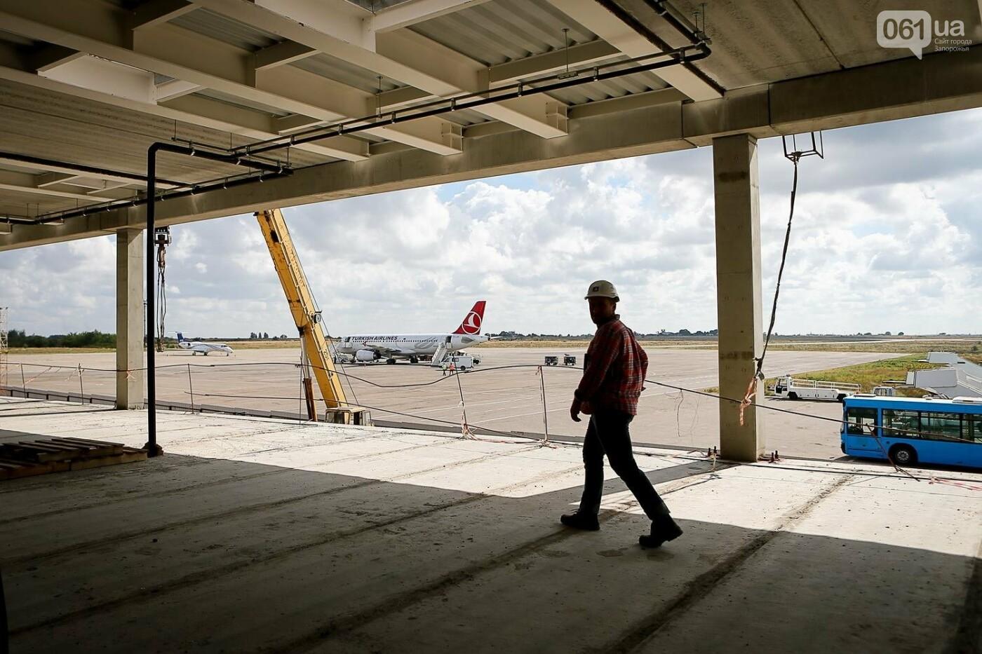 Как идет строительство нового терминала аэропорта Запорожья 36