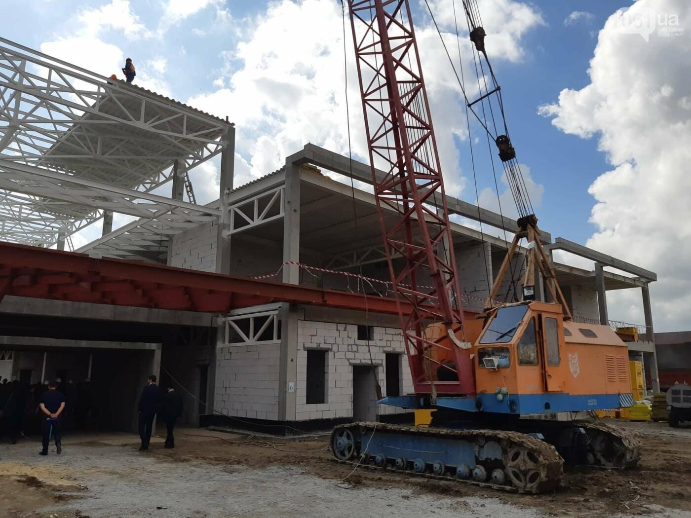 Как идет строительство нового терминала аэропорта Запорожья 40