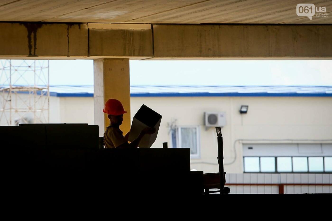 Как идет строительство нового терминала аэропорта Запорожья 41