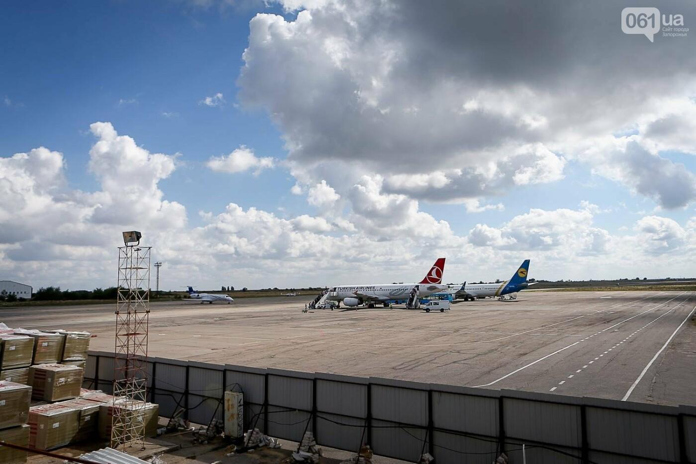 Как идет строительство нового терминала аэропорта Запорожья 42