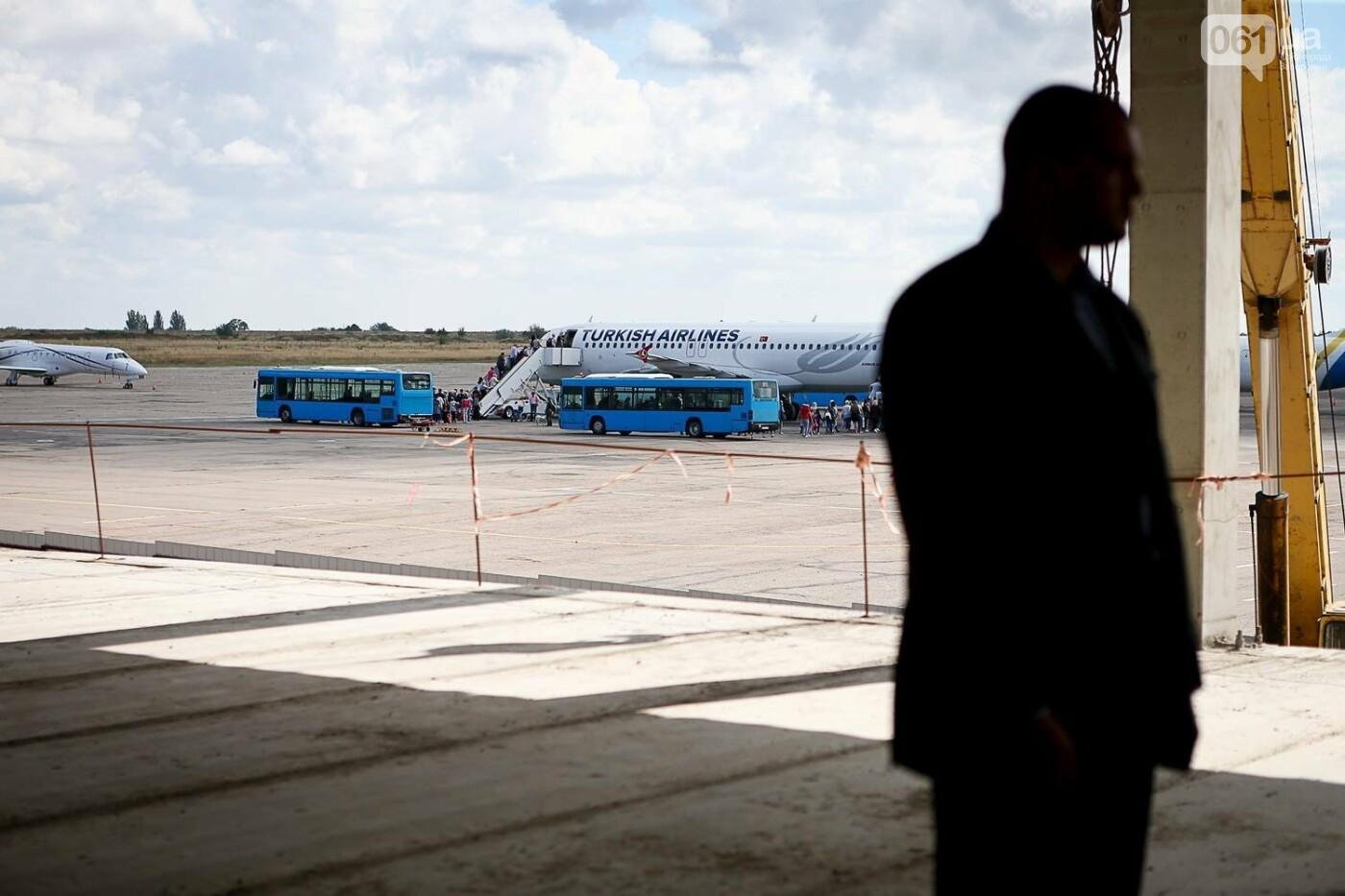 Как идет строительство нового терминала аэропорта Запорожья 43
