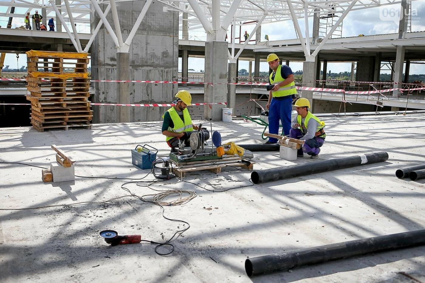 Как идет строительство нового терминала аэропорта Запорожья 44