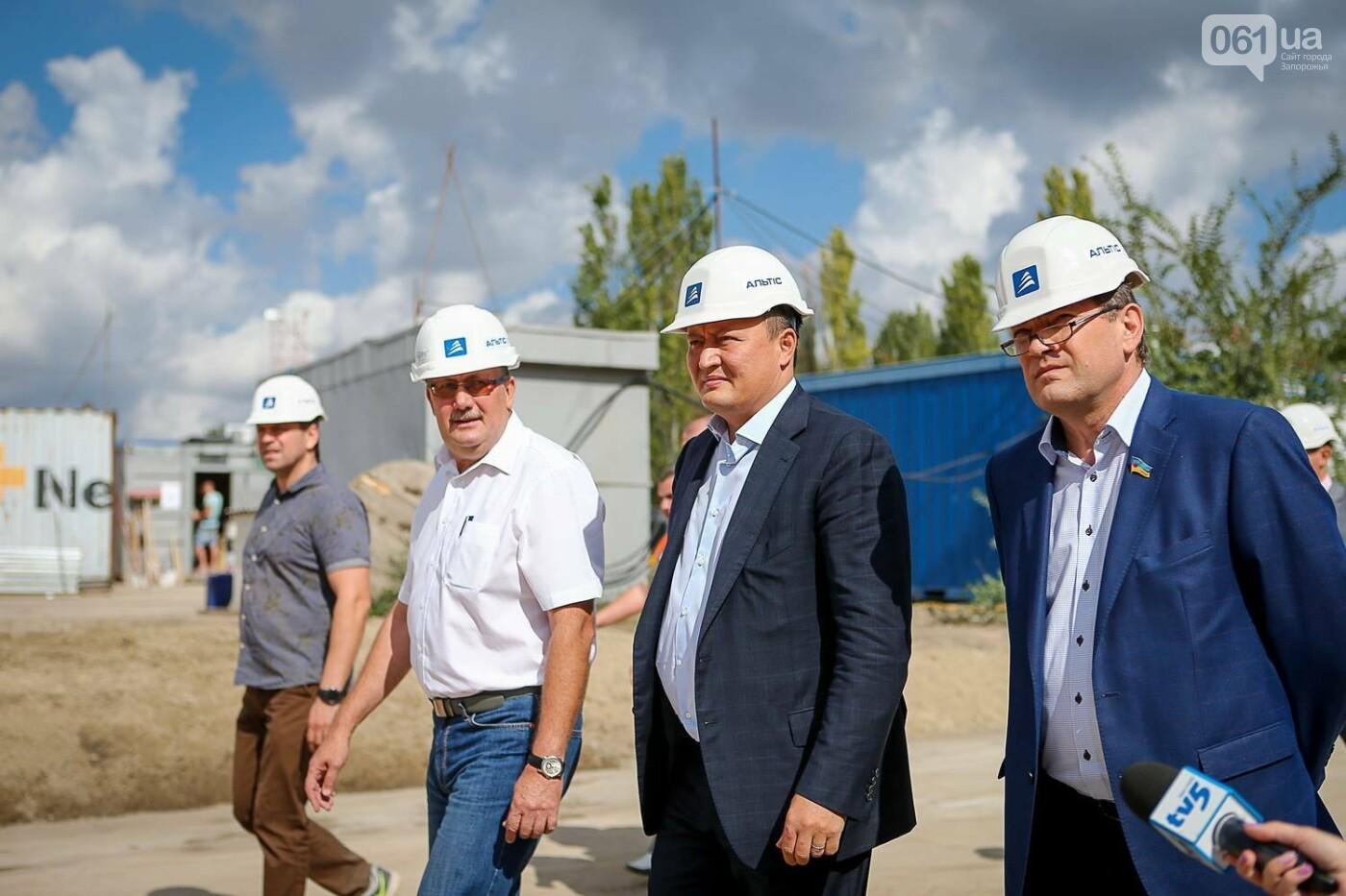 Как идет строительство нового терминала аэропорта Запорожья 24