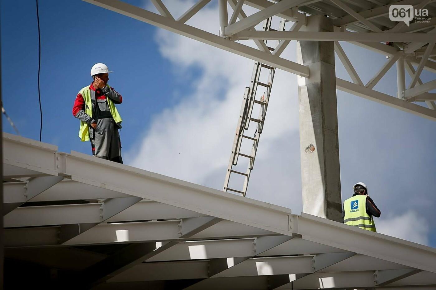 Как идет строительство нового терминала аэропорта Запорожья 27