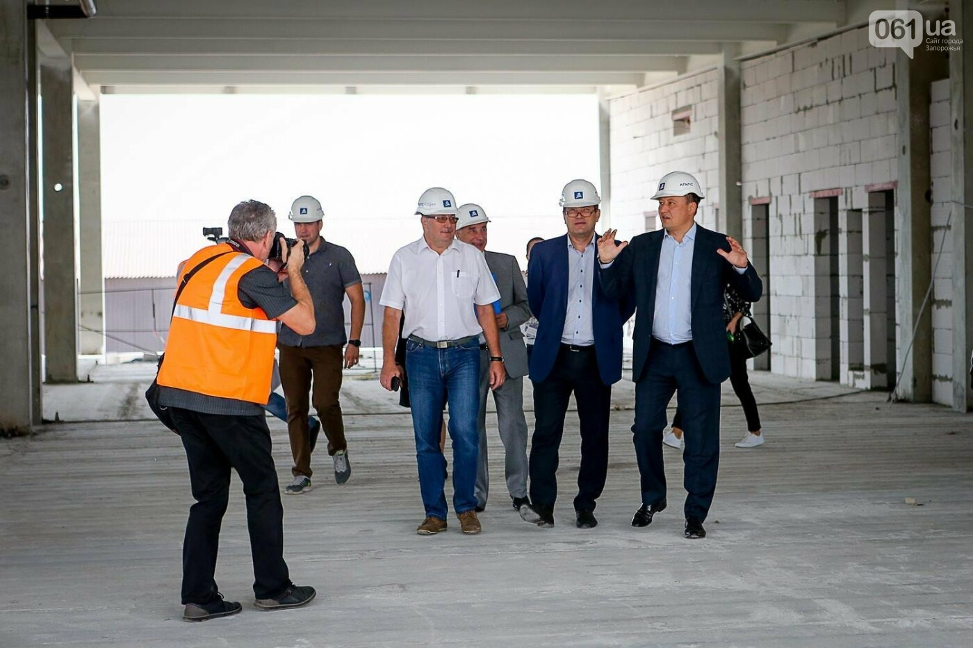 Как идет строительство нового терминала аэропорта Запорожья 28
