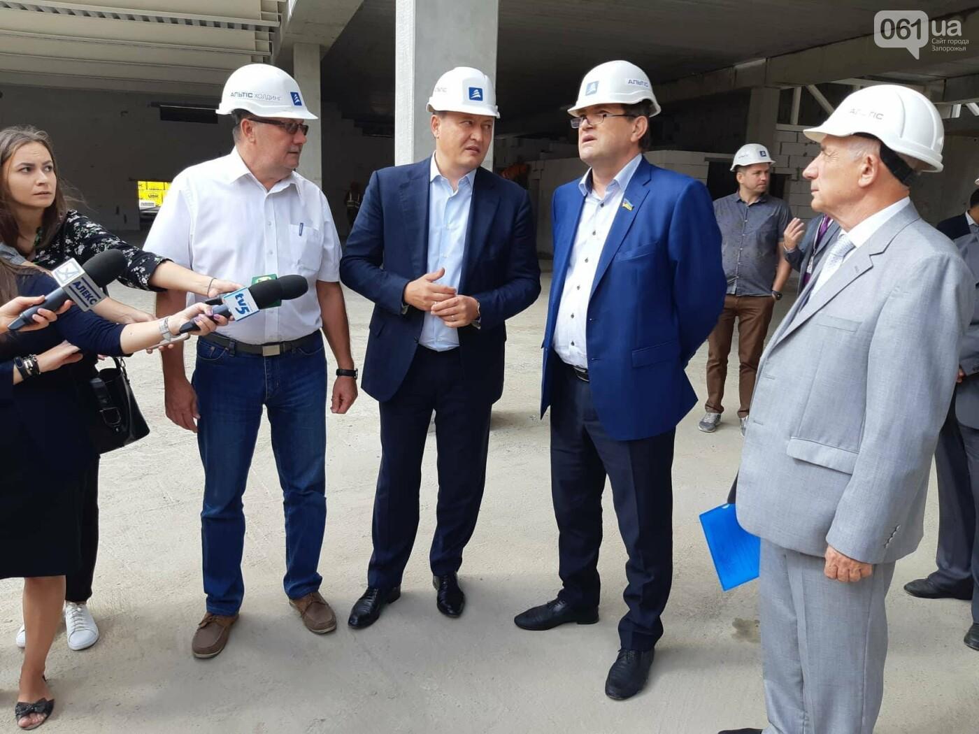 Как идет строительство нового терминала аэропорта Запорожья 29
