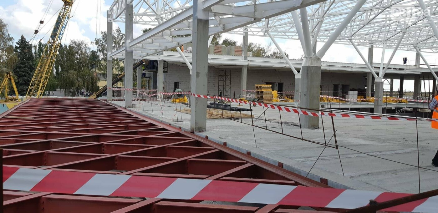 Как идет строительство нового терминала аэропорта Запорожья 30