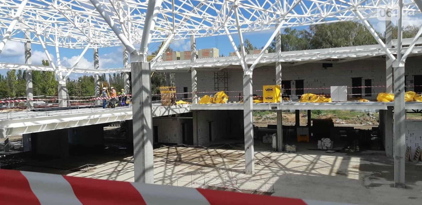 Как идет строительство нового терминала аэропорта Запорожья 33