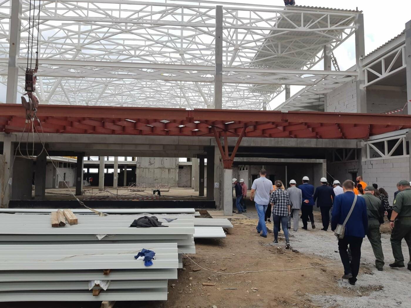 Как идет строительство нового терминала аэропорта Запорожья 2