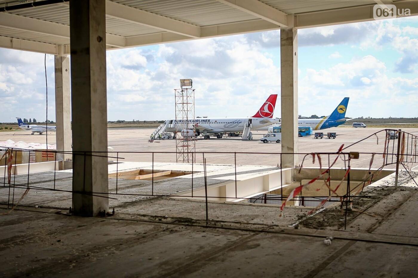 Как идет строительство нового терминала аэропорта Запорожья 3