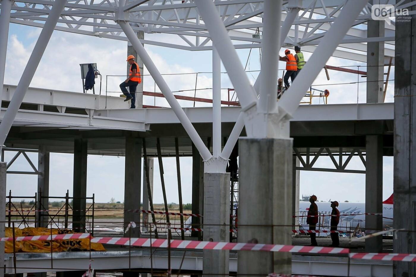 Как идет строительство нового терминала аэропорта Запорожья 8