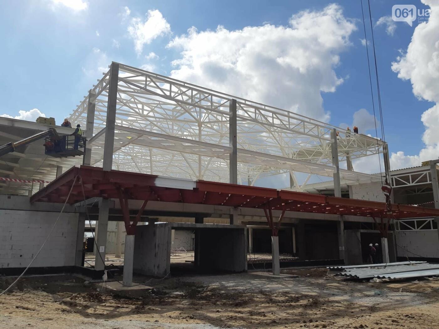 Как идет строительство нового терминала аэропорта Запорожья 9