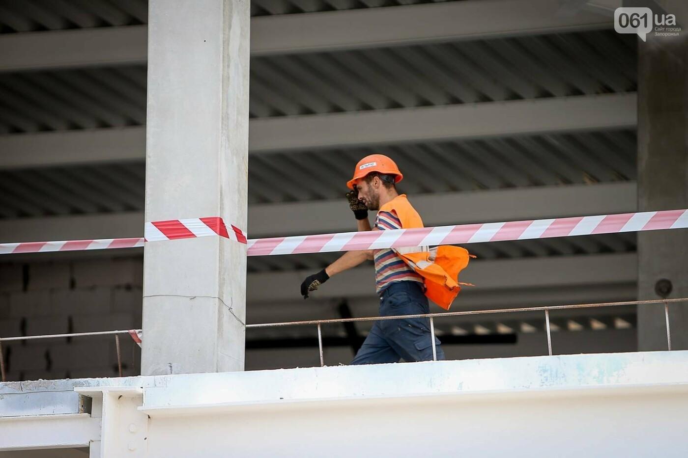 Как идет строительство нового терминала аэропорта Запорожья 10
