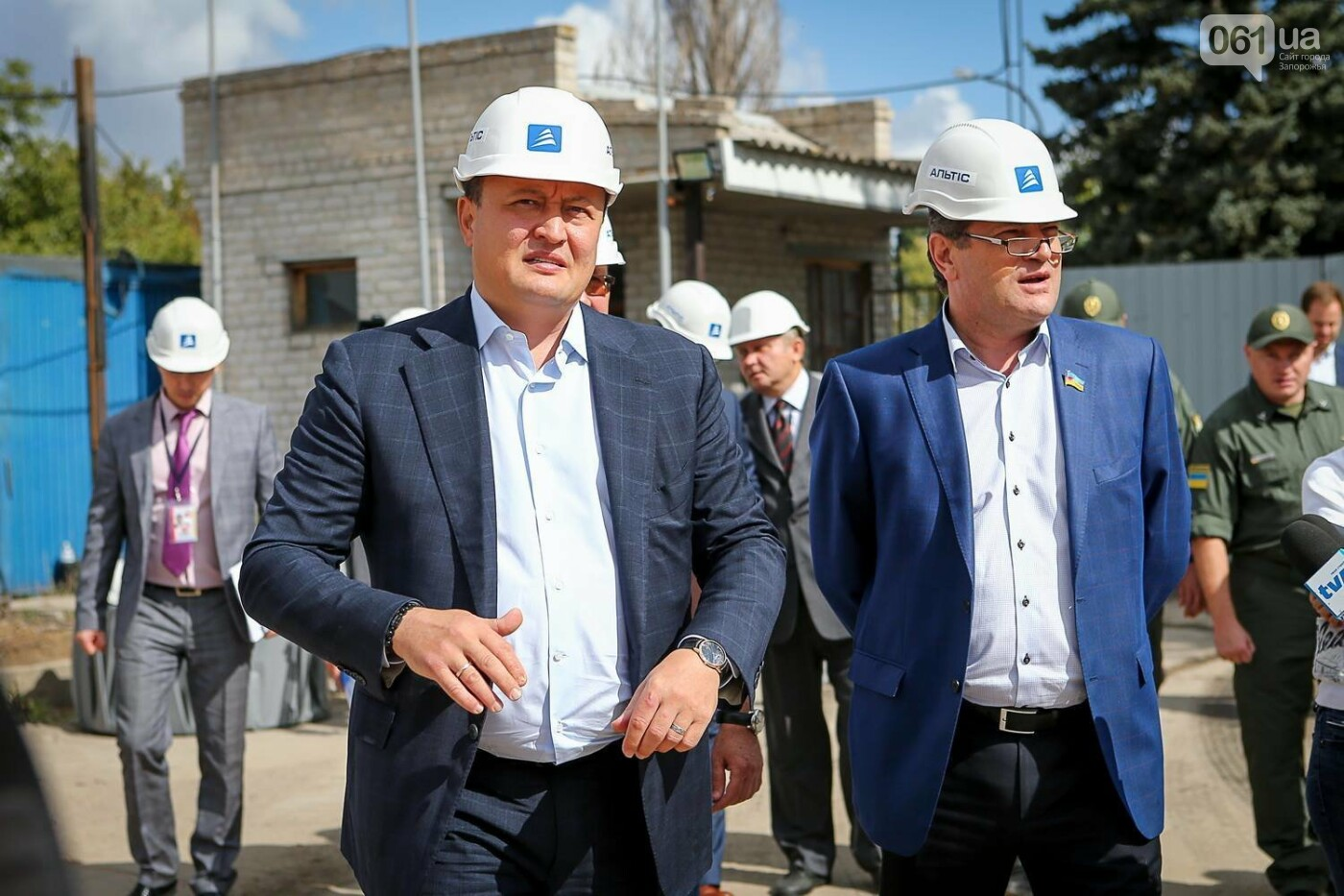 Как идет строительство нового терминала аэропорта Запорожья 11