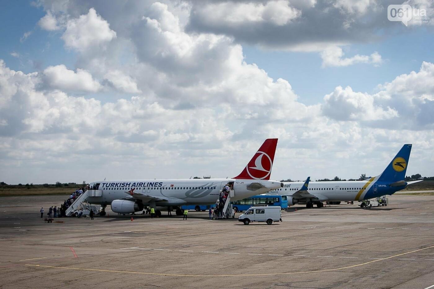 Как идет строительство нового терминала аэропорта Запорожья 13